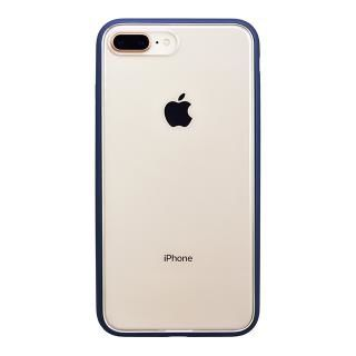 iPhone8 Plus ケース パワーサポート Shock proof Air jacket ラバーネイビー iPhone 8 Plus