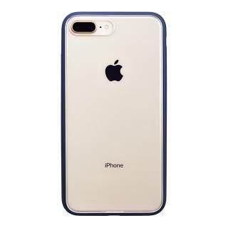 パワーサポート Shock proof Air jacket ラバーネイビー iPhone 8 Plus