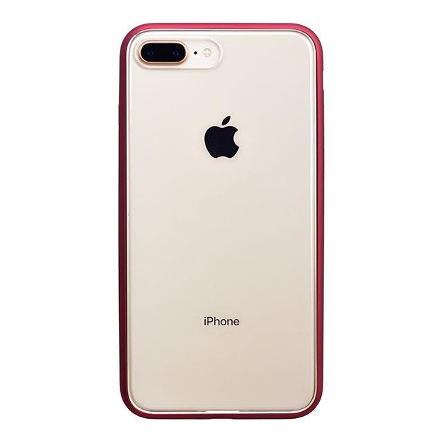 iPhone8 Plus ケース パワーサポート Shock proof Air jacket ラバーレッド iPhone 8 Plus_0