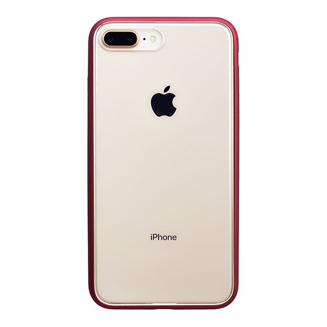 【iPhone8 Plusケース】パワーサポート Shock proof Air jacket ラバーレッド iPhone 8 Plus_0