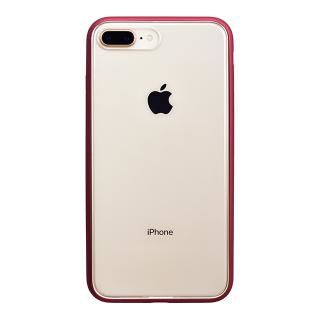 パワーサポート Shock proof Air jacket ラバーレッド iPhone 8 Plus