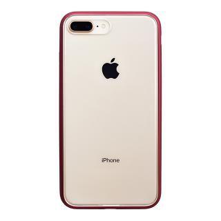 パワーサポート Shock proof Air jacket ラバーレッド iPhone 8 Plus