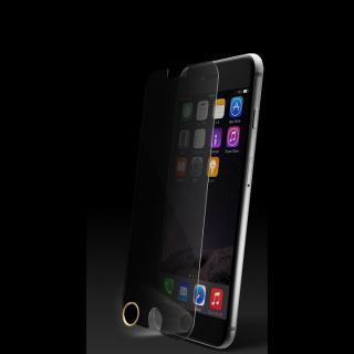 [0.33mm]プライバシー保護強化ガラス TouchID対応ホームボタンシールセット iPhone 6 Plus