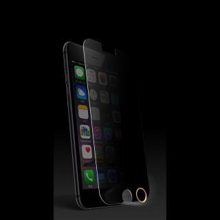 [0.33mm]プライバシー保護強化ガラス TouchID対応ホームボタンシールセット iPhone 6