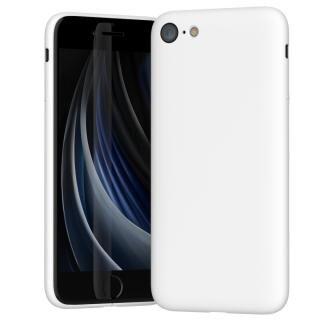 iPhone SE 第2世代 ケース MYNUS ケース マットホワイト iPhone SE 第2世代/8/7