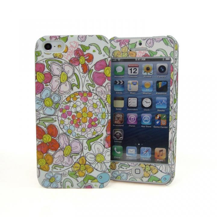 iPhone SE/5s/5 ケース TSUTSUI HAJIME × SMILE WORLD Mother (iPhone5用)_0