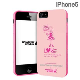 iPhone SE/5s/5 ケース Whatever It Takesシリーズ Dame Vivienne Westwood iPhone SE/5s/5ケース