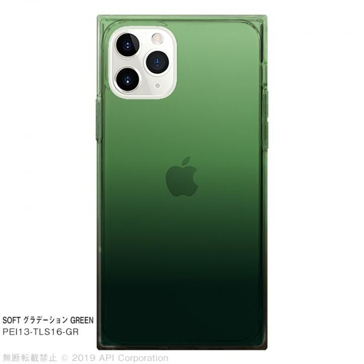 iPhone 11 Pro ケース EYLE TILE SOFT グラデーション GREEN for iPhone 11 Pro_0