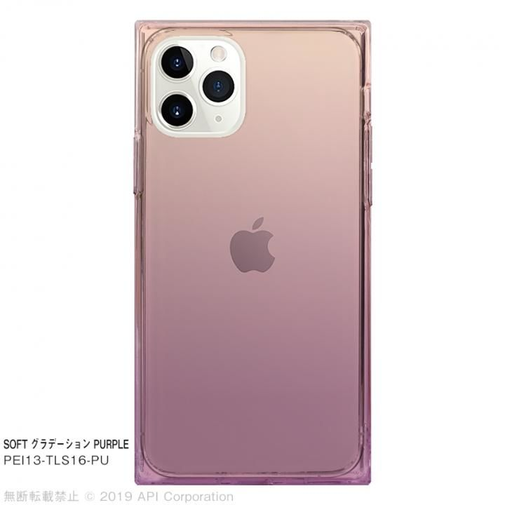 iPhone 11 Pro ケース EYLE TILE SOFT グラデーション PURPLE for iPhone 11 Pro_0