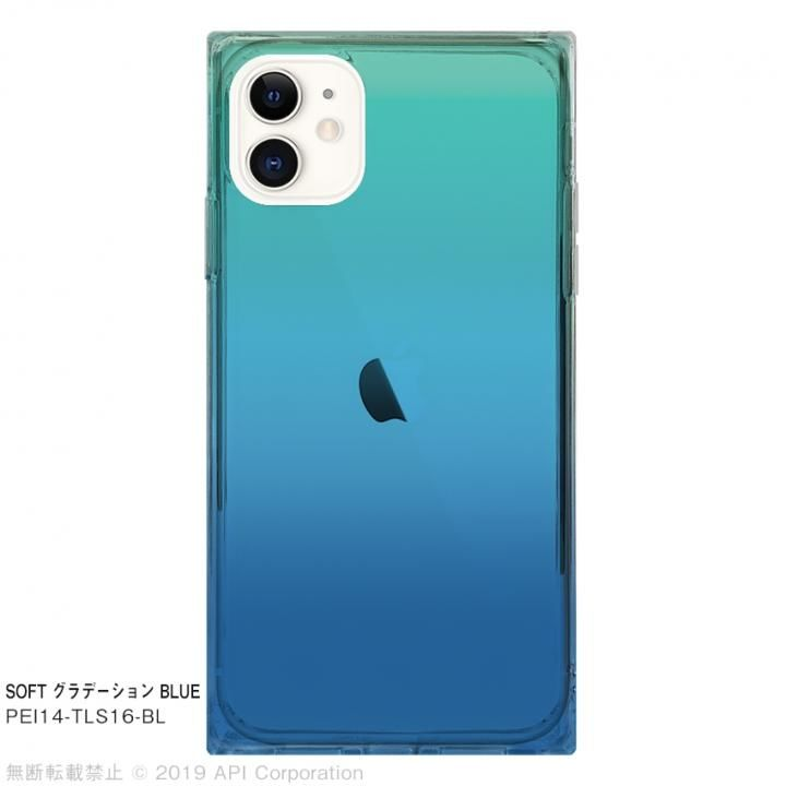 iPhone 11 ケース EYLE TILE SOFT グラデーション BLUE for iPhone 11_0