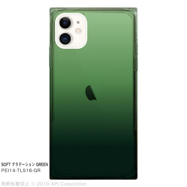 iPhone 11 ケース EYLE TILE SOFT グラデーション GREEN for iPhone 11_0