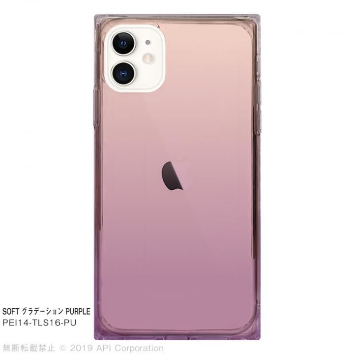 iPhone 11 ケース EYLE TILE SOFT グラデーション PURPLE for iPhone 11_0