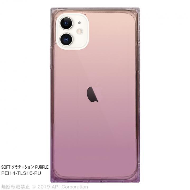 iPhone 11 ケース EYLE TILE SOFT グラデーション PURPLE for iPhone 11_0
