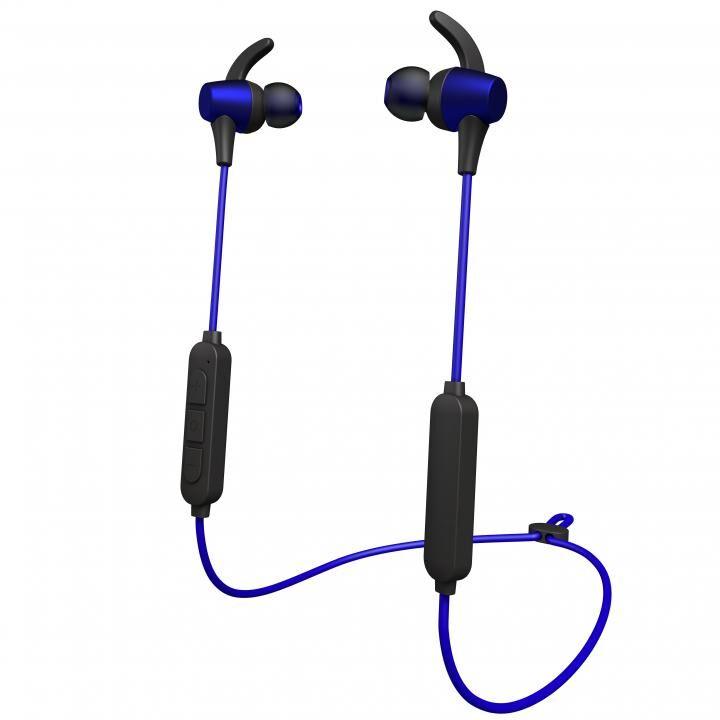 Bluetoothイヤホン VTH-IC027 ダークブルー_0