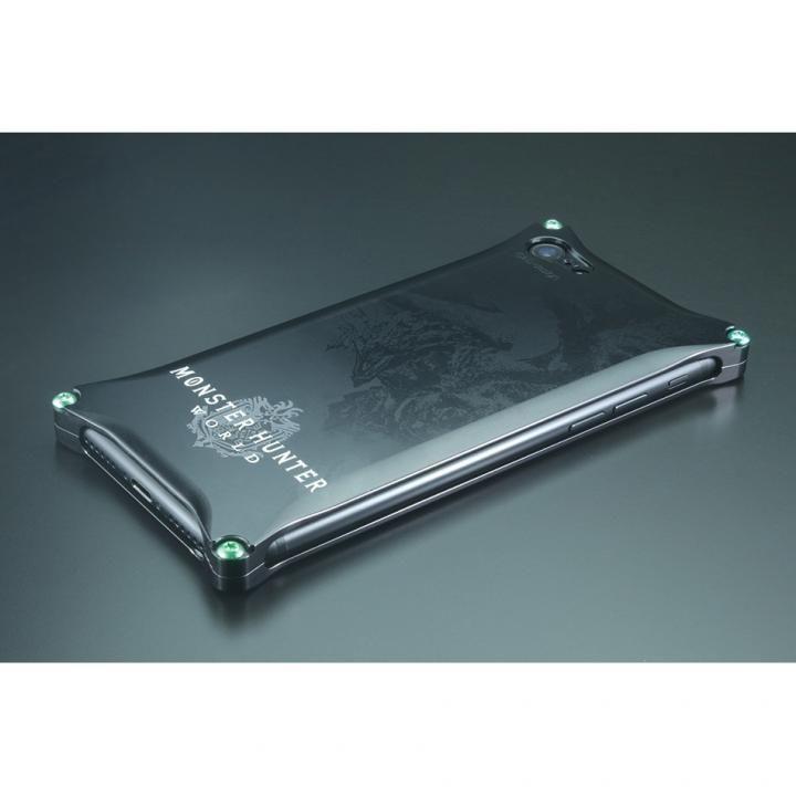 【iPhone8/7ケース】MONSTER HUNTER: WORLD ソリッドケース リオレウス ブラック iPhone 8/7_0