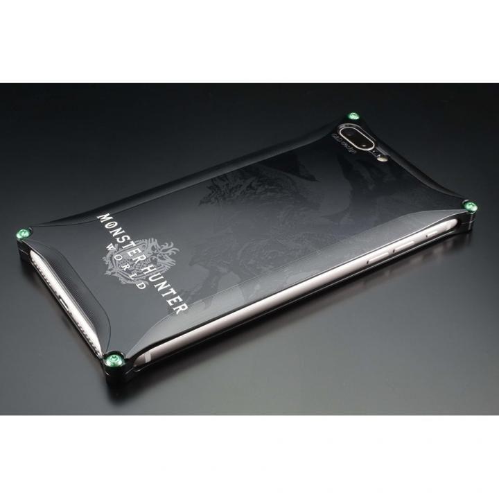 iPhone8 Plus/7 Plus ケース MONSTER HUNTER: WORLD ソリッドケース リオレウス ブラック iPhone 8 Plus/7 Plus_0