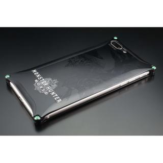 iPhone8 Plus/7 Plus ケース MONSTER HUNTER: WORLD ソリッドケース リオレウス ブラック iPhone 8 Plus/7 Plus