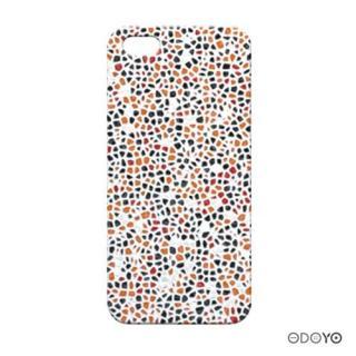 iPhone5 ODOYO モザイク/ホワイトアラバスター