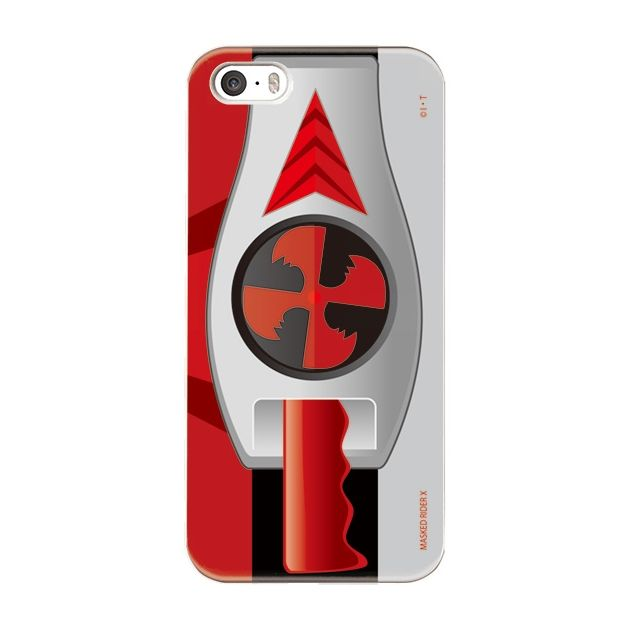 iPhone5s/5 ケース 仮面ライダーX(エックス) ハードケース iPhone 5_0