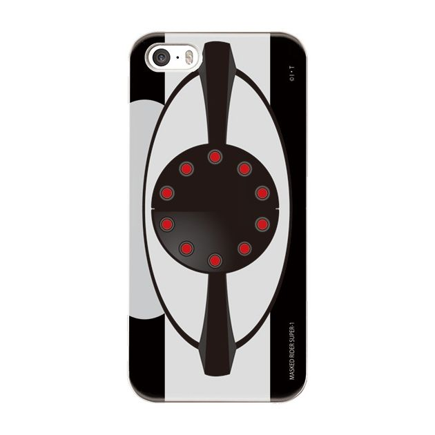 iPhone5s/5 ケース 仮面ライダースーパー1(ワン) ハードケース iPhone 5_0