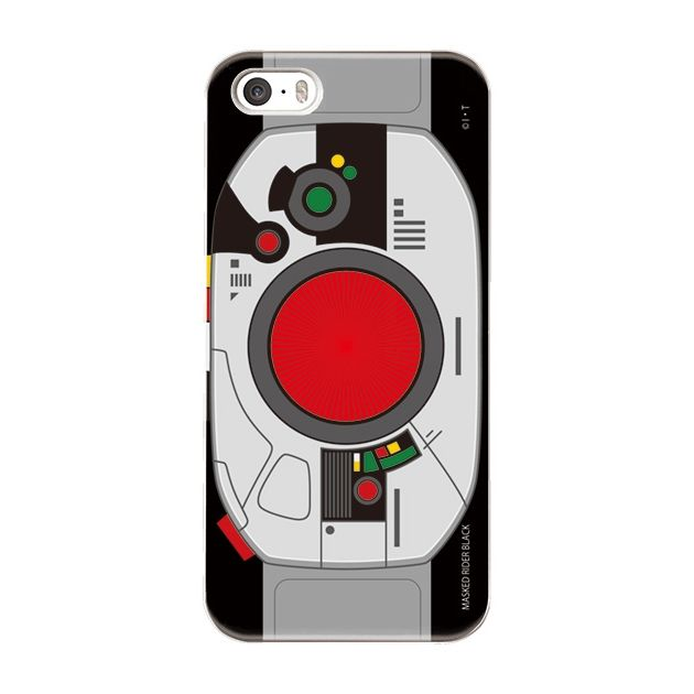 仮面ライダーBLACK(ブラック) ハードケース iPhone SE