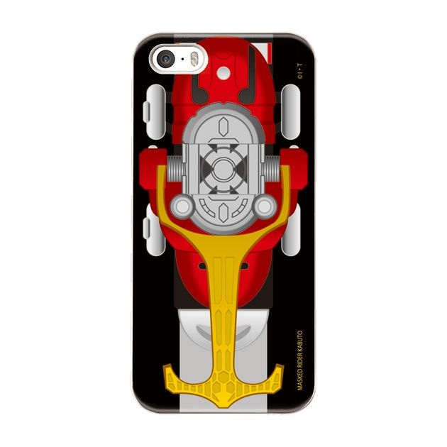 iPhone5s/5 ケース 仮面ライダーカブト ハードケース iPhone 5_0