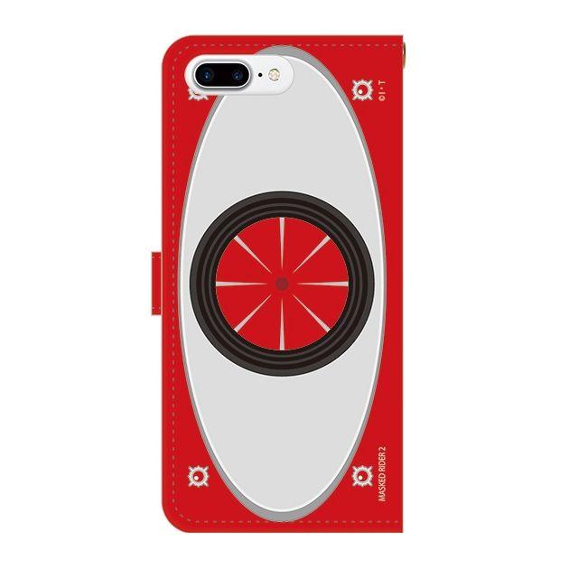 iPhone7 Plus ケース 仮面ライダー2号 手帳型ケース iPhone 7 Plus_0