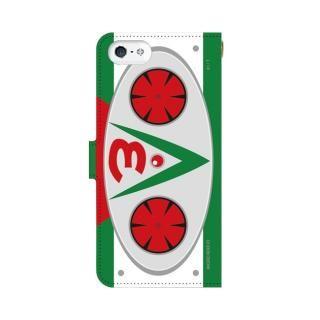 仮面ライダーV3(ブイスリー) 手帳型ケース iPhone 5