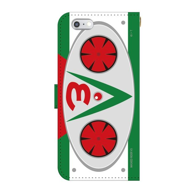 仮面ライダーV3(ブイスリー) 手帳型ケース iPhone 6