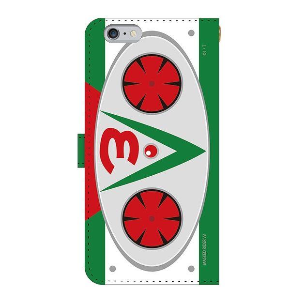 iPhone6 Plus ケース 仮面ライダーV3(ブイスリー) 手帳型ケース iPhone 6 Plus_0