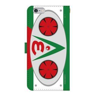 仮面ライダーV3(ブイスリー) 手帳型ケース iPhone 6 Plus