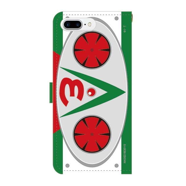 iPhone7 Plus ケース 仮面ライダーV3(ブイスリー) 手帳型ケース iPhone 7 Plus_0