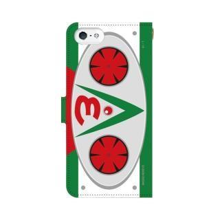仮面ライダーV3(ブイスリー) 手帳型ケース iPhone SE【12月下旬】