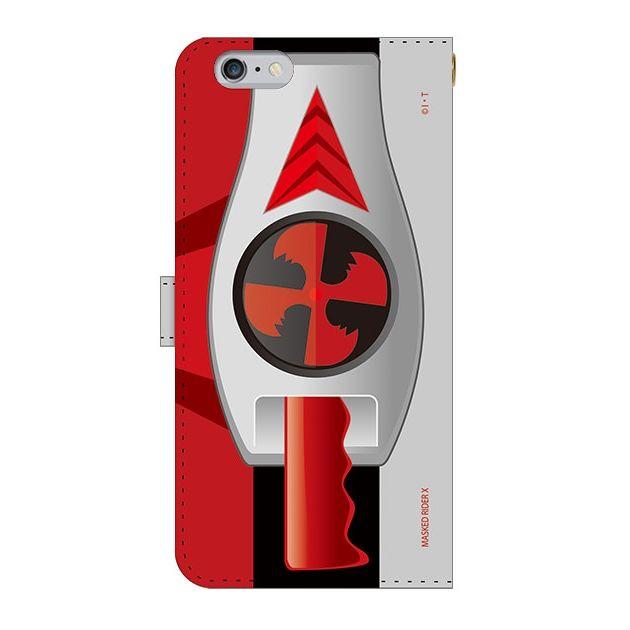 iPhone6s Plus ケース 仮面ライダーX(エックス) 手帳型ケース iPhone 6s Plus_0