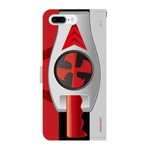 iPhone7 Plus ケース 仮面ライダーX(エックス) 手帳型ケース iPhone 7 Plus_0