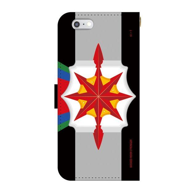 【iPhone6ケース】仮面ライダーストロンガー 手帳型ケース iPhone 6_0