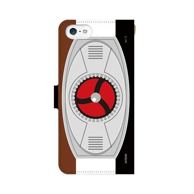 スカイライダー 手帳型ケース iPhone SE