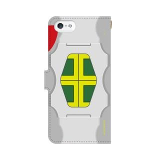 仮面ライダーZX(ゼクロス) 手帳型ケース iPhone 5