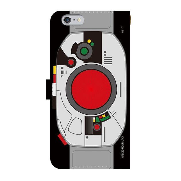 iPhone6 Plus ケース 仮面ライダーBLACK(ブラック) 手帳型ケース iPhone 6 Plus_0