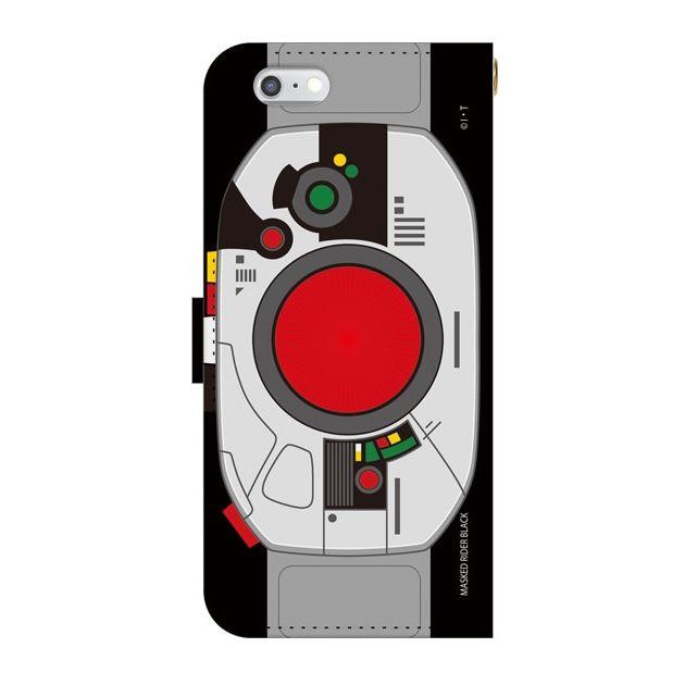 【iPhone6sケース】仮面ライダーBLACK(ブラック) 手帳型ケース iPhone 6s_0