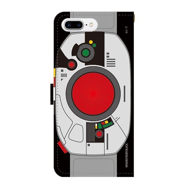 iPhone7 Plus ケース 仮面ライダーBLACK(ブラック) 手帳型ケース iPhone 7 Plus_0