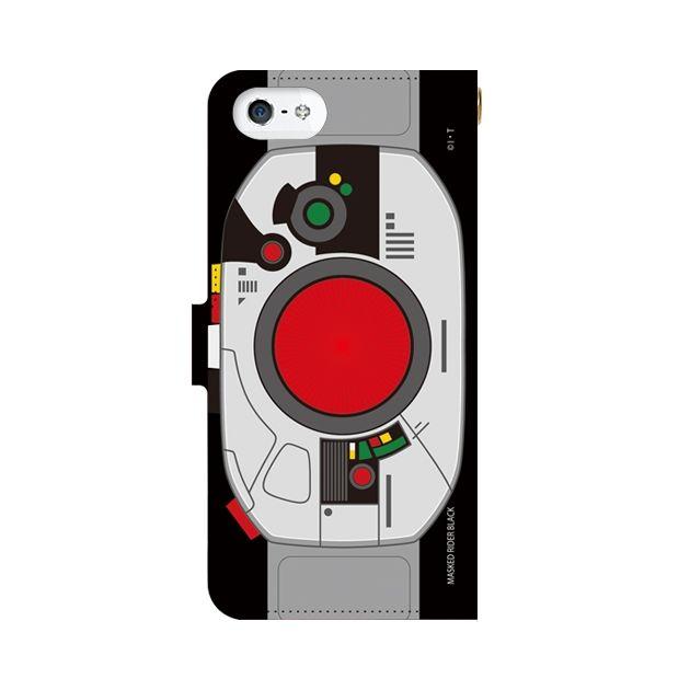 iPhone SE ケース 仮面ライダーBLACK(ブラック) 手帳型ケース iPhone SE_0