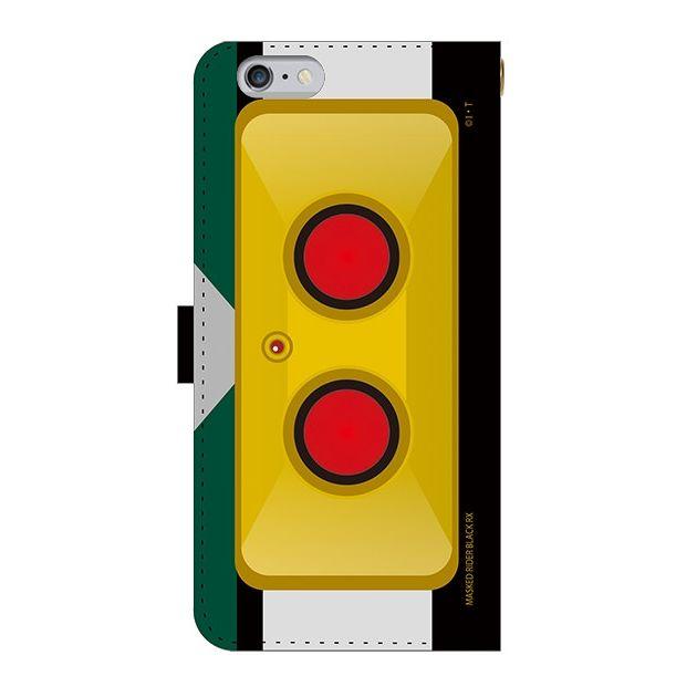 iPhone6s Plus ケース 仮面ライダーBLACK RX(ブラックアールエックス) 手帳型ケース iPhone 6s Plus_0