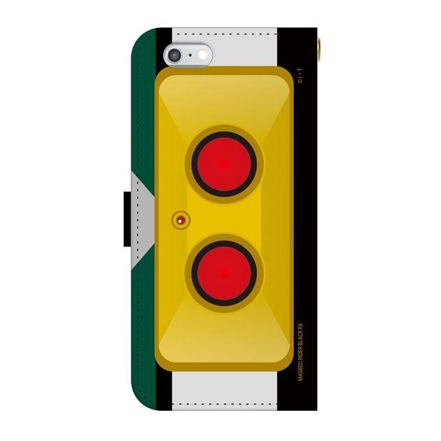 【iPhone6ケース】仮面ライダーBLACK RX(ブラックアールエックス) 手帳型ケース iPhone 6_0