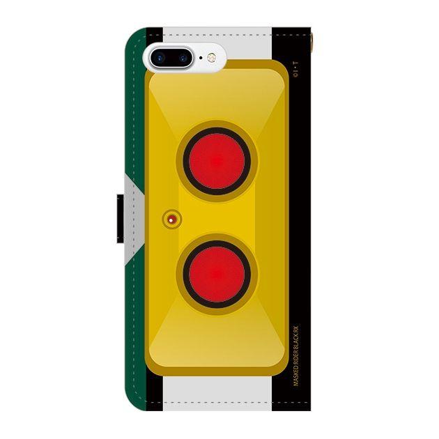 iPhone7 Plus ケース 仮面ライダーBLACK RX(ブラックアールエックス) 手帳型ケース iPhone 7 Plus_0