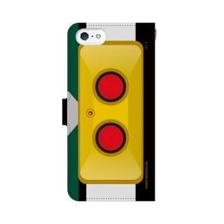 仮面ライダーBLACK RX(ブラックアールエックス) 手帳型ケース iPhone SE