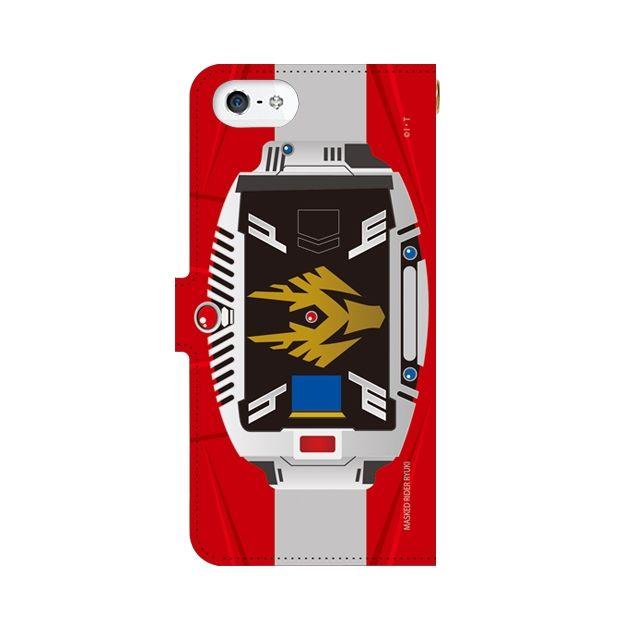 【iPhone SEケース】仮面ライダー龍騎 手帳型ケース iPhone SE_0