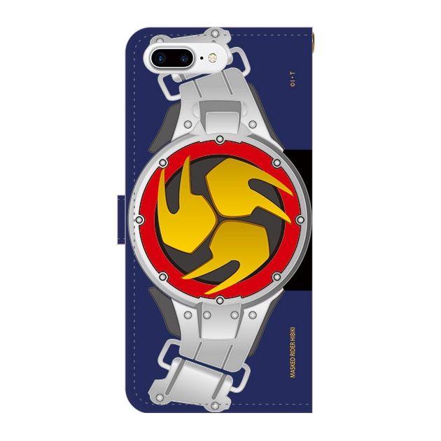 iPhone7 Plus ケース 仮面ライダー響鬼 手帳型ケース iPhone 7 Plus_0