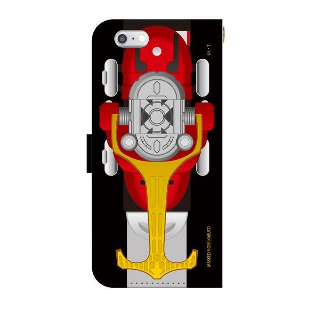 仮面ライダーカブト 手帳型ケース iPhone 6