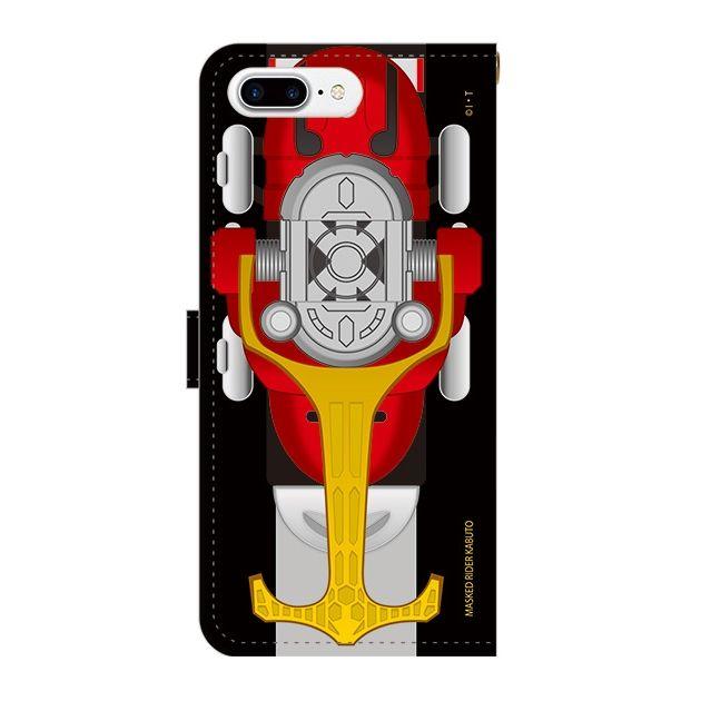 iPhone7 Plus ケース 仮面ライダーカブト 手帳型ケース iPhone 7 Plus_0